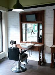 furniture black and white. interior barbershop design ideas beauty salon floor plan small black and white decor retro furniture