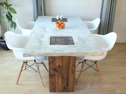 concrete top dining table. Cement Dining Table Best Tables Concrete Outdoor Pertaining To Ideas . Top