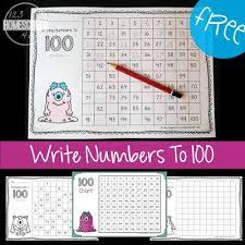 Free Hundreds Chart Worksheets Prek And Kindergarten