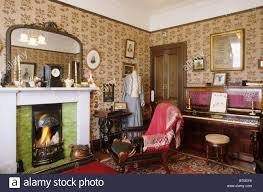 The Living Room Furniture Glasgow Glasgow The Tenement House Period Sitting Room Scotland Uk