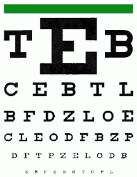 Dmv Eye Test Chart California Ca Dmv License Renewal Vision Test Telegraph