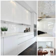 Splashback White Kitchen White Splashback Ideas