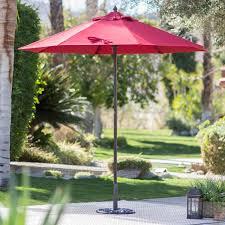 11 foot patio umbrella with solar lights