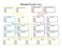40 Free Family Tree Templates Word Excel Pdf Template
