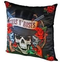<b>Подушка</b> декоративная Gift'n'Home <b>Guns N</b>' <b>Roses</b> 35х35 см (PLW ...