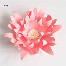 Cardstock Paper Flower 20cm Thick Cardstock Rose Diy Paper Flowers For Wedding Event