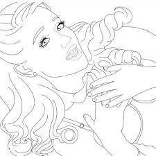 Ariana Grande Coloring Page Ariana Grande