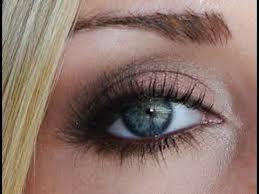 smokey eye makeup for blue eyes plete tutorial the elegance beauty
