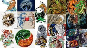 значение тату тигр и дракон клуб татуировки фото тату значения