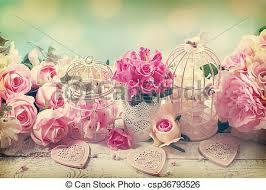 vintage love background. Exellent Vintage Romantic Vintage Love Background With Flowers  Csp36793526 With Vintage Love Background D