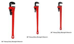Pipe Wrench Size Chart Pipe Wrenches Ridgid