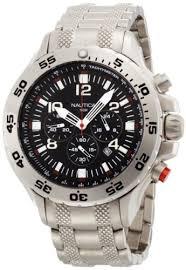 nautica men watches best watchess 2017 nautica men s 19508g nst chronograph watch bossman watches