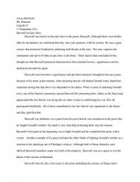 eng iv beowulf an epic hero essay zoom zoom