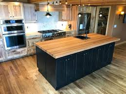 calico hickory butcher block kitchen island fine woodworking countertop ikea gallery
