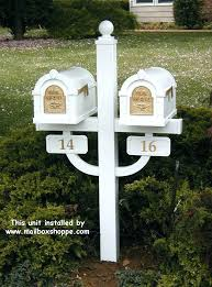 Double mailbox post plans Diy Dual Mailbox Post Double Mailbox Order Keystone Mailbox And Post Double Mailbox Post Plans Double Radioinfarktinfo Dual Mailbox Post Unfinishediicom