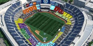 New York Yankees Stadium Seating Chart