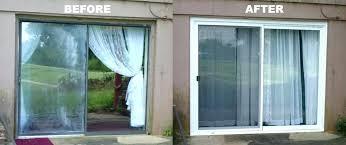 patio door glass replacement cost ment