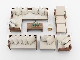 west elm patio furniture.  Furniture West Elm Jardine Outdoor Furniture Set 3d Model Max Obj Fbx Mtl  To West Elm Patio Furniture
