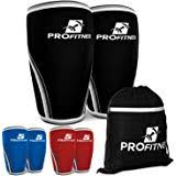 profitness knee sleeve squat support and pression for powerlifting