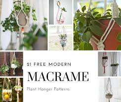 Free Macrame Patterns Stunning 48 Free Macrame Plant Hanger Patterns Ada Mae Designs