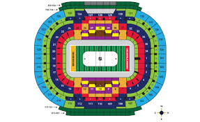 Notre Dame Stadium Detailed Seating Chart Tickets 2019 Bridgestone Nhl Winter Classic Boston Bruins