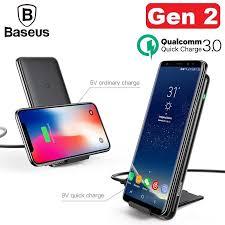 [SG Seller] <b>Baseus</b> Fast <b>Wireless Charger</b>, Qi Certified, <b>Triple Coil</b> ...