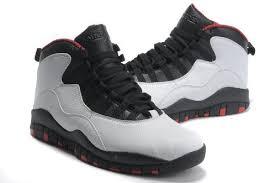 jordan shoes retro 10. new air jordan 10 retro black grey red shoes n