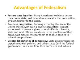 revision lesson federalism 6 advantages of federalism