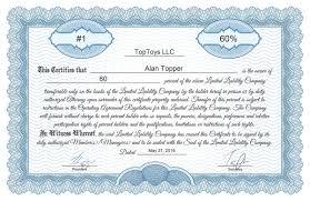 Stock Certificate Template Free Stock Certificate Online Generator