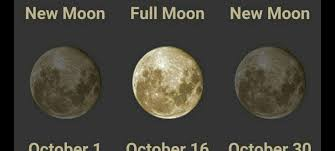 October 2016 Energy Shift Two New Moons Full Moon Dark