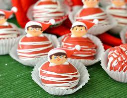 christmas oreo balls.  Christmas Elf On The Shelf OREO Cookie Balls With Christmas Oreo O