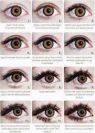 gyaru eye makeover tutorial s used skin79 monster eyeliner
