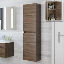 bathroom modular furniture. Furniture, Modern Wall Hung Storage Cabinets Made Of Walnut To Represent Natural And Calm Appeal Bathroom Modular Furniture