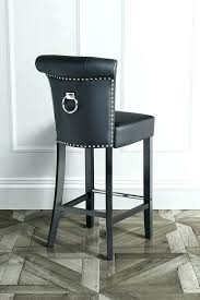 amusing leather bar stool bronze kitchen counter stools leather bar chairs with backs bar stool backs