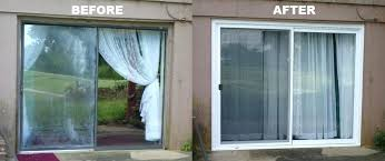 replace sliding glass door change to french doors replacement patio