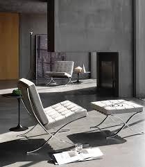 van der rohe furniture. Van Der Rohe Barcelona Chair \u0026 Ottoman Van Rohe Furniture