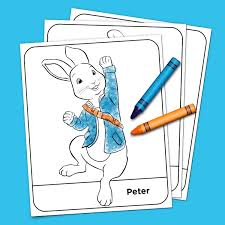 We have tons of cute bunny rabbit pictures to choose from! Peter Rabbit Coloring Pack Nickelodeon Parents