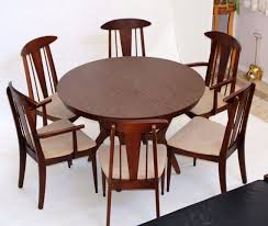 love these chairs mica top 2 leaf dining table and 6 atomic era walnut chairs