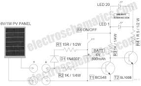 led solar lantern lights circuit led solar powered lantern lights schematic