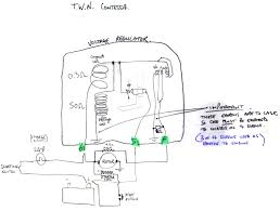 twn contessa electrics mechanical regulator wiring on twn
