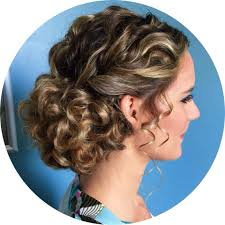 Love This Naturally Curly Updo For A Bride Or Prom Locks