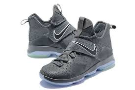 lebron shoes 14 2017. newest and cheapest lebron 14 xiv wolf grey silver 2017 lebron james sneakers shoes