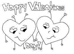 This simple valentine coloring page with a snoopy holding onto a heart is recommended for small kids. Free Printable Valentine Coloring Pages For Kids