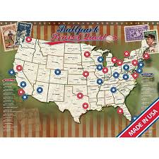 Ballpark Travel Quest Poster
