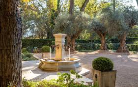 Stroudwater Design Group French Mediteranian Entry Courtyard By Stroudwater Design