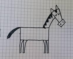 Cavallo Disegno Per Bambini Facile Con Disegni Di Lupo Come