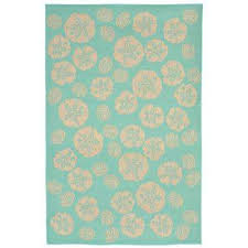 baxter sand dollar turquoise 5 ft x 8 ft indoor outdoor area rug
