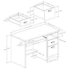 Average Desk Size Standard Sizes Typical Dimensions Desktop