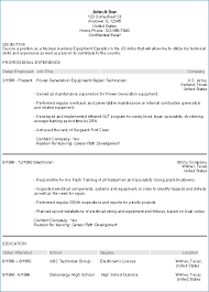 Military Veteran Resume Resume Example