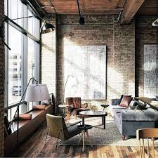 Image Office Apartment Industrial Interior Design With Floor To Ceiling Windows Next Luxury Top 50 Best Industrial Interior Design Ideas Raw Decor Inspiration